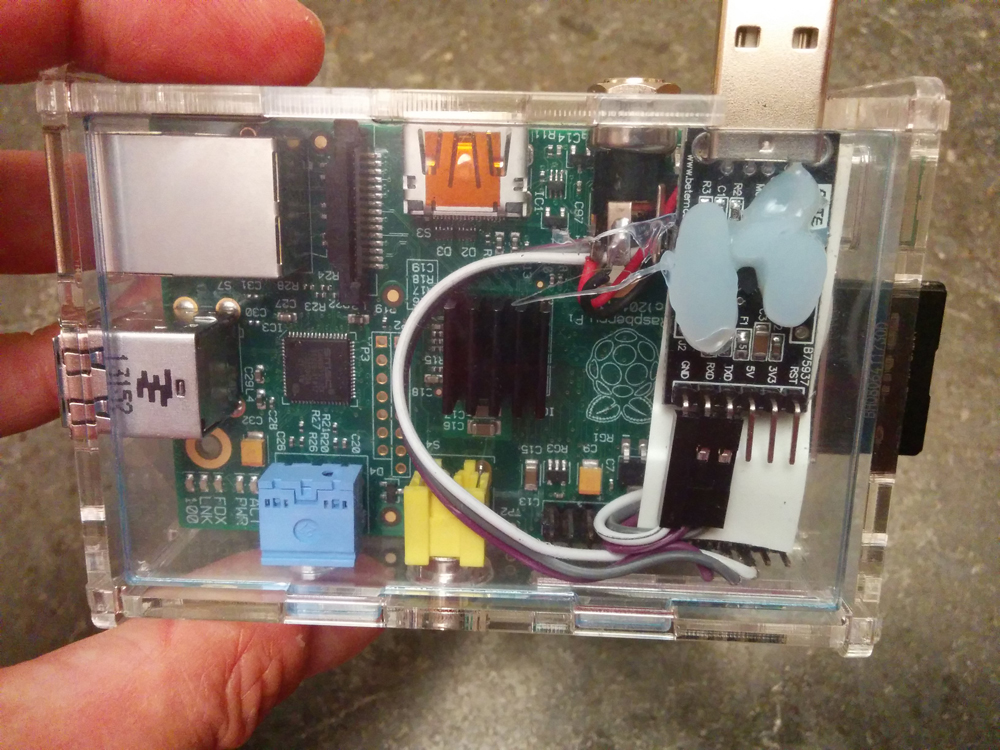 Raspberry Pi serial rs232 console